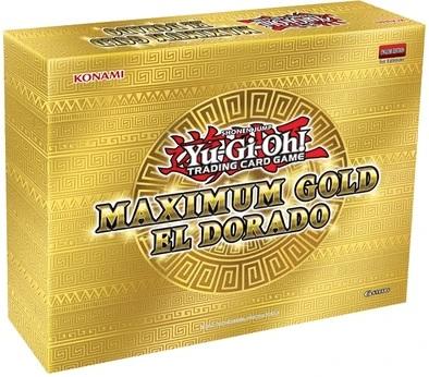 Boite Maximum Gold - El Dorado pour le jeu de cartes Yu-Gi-Oh!