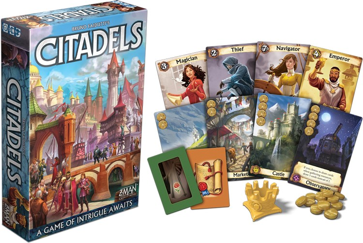 Citadelles version portable