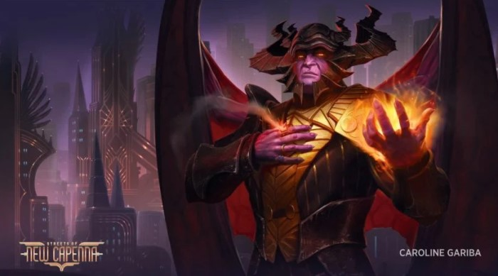 Extension Streets of new Capenna pour Magic the gathering