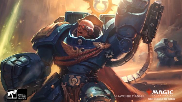 Set Magic Universe Beyond consacré à Warhammer 40k